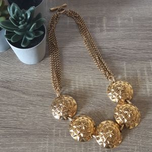 Oversized Gold Star Necklace